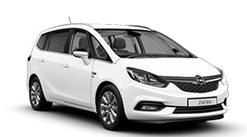 New Zafira Tourer SE