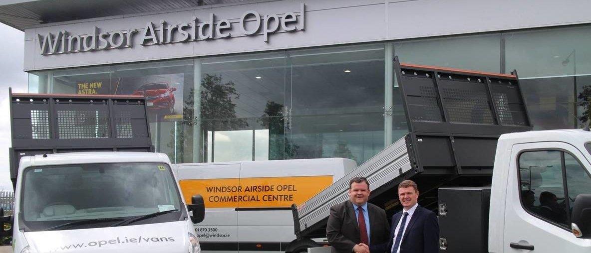 Windsor Airside Opel dealership