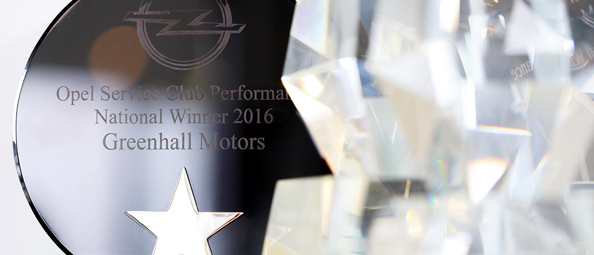 Customer Excellence Awards – Greenhall motors