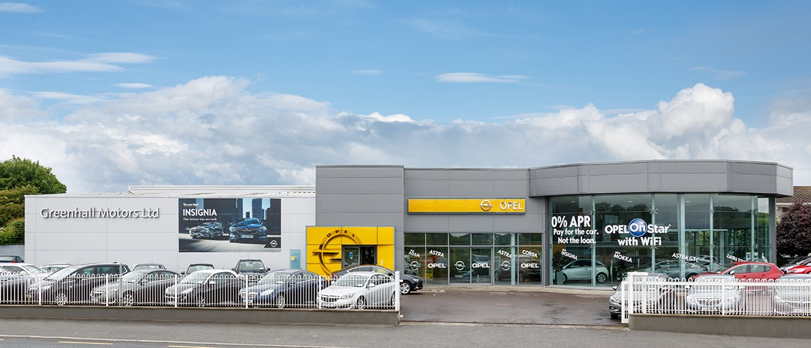 Opel Greenhall Motors dealership
