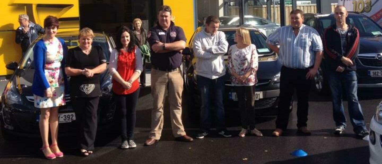 Tullamore Motors team in 2014