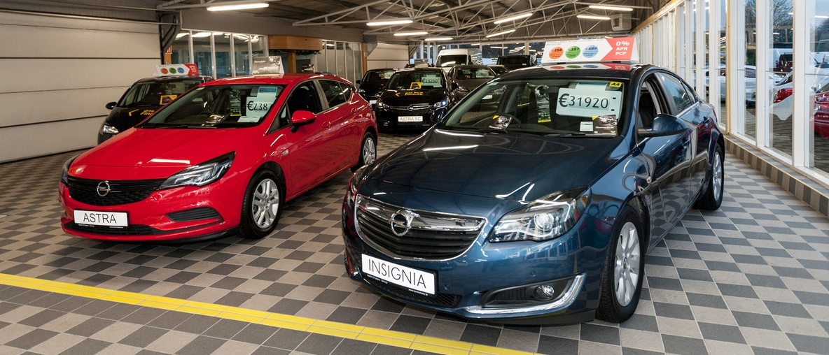 Astra & Insignia - Vehicles in stock at Kevin O'Leary Bandon