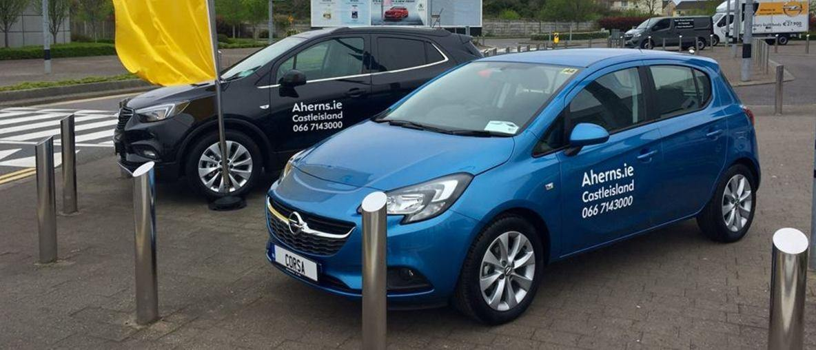 Opel Corsa in stock at Aherns Opel, Castleisland, Co. Kerry