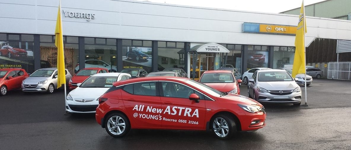 New Astra - Vehicles in stock at Youngs Opel Roscrea