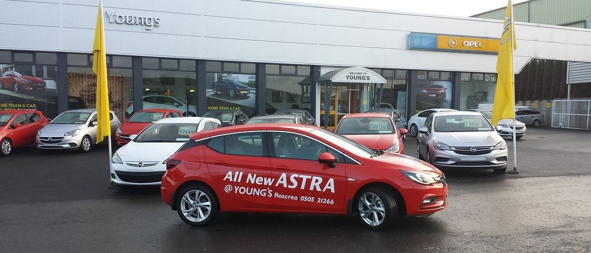 New Astra in red