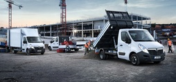 Movano Conversions - box van, dropside and tipper