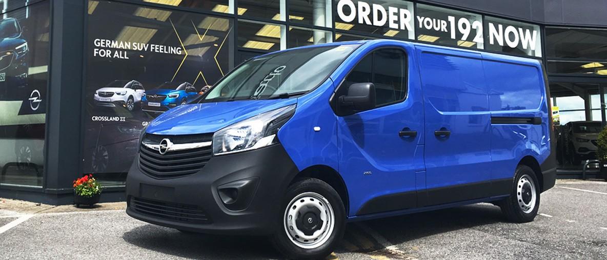 192 Opel Vivaro Leasing Special Offer