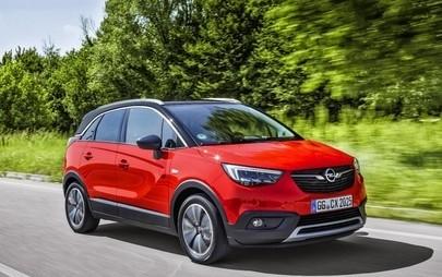 """Opel Crossland X is Winner in Euro NCAP """"Best in Class 2017"""""""