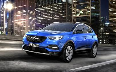 The new SUV: Athletic And Adventurous Opel Grandland X